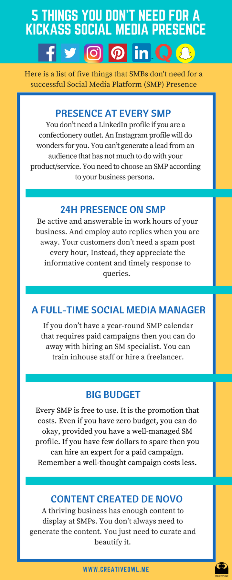 Social Media Management for Small and Medium Businesses